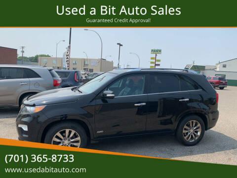 2011 Kia Sorento for sale at Used a Bit Auto Sales in Fargo ND