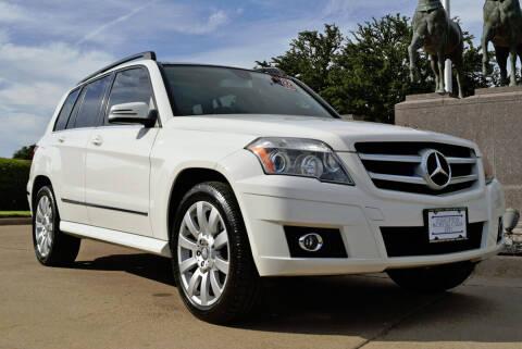 2010 Mercedes-Benz GLK for sale at European Motor Cars LTD in Fort Worth TX