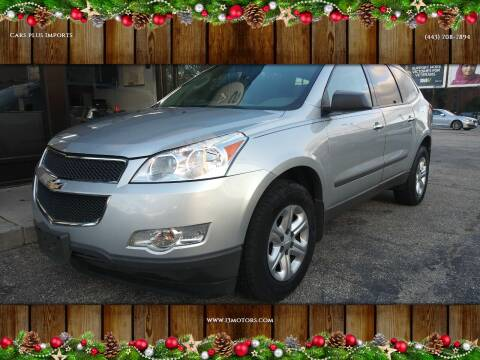 2012 Chevrolet Traverse for sale at i3Motors in Baltimore MD