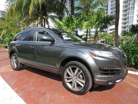 2014 Audi Q7 for sale at Choice Auto in Fort Lauderdale FL