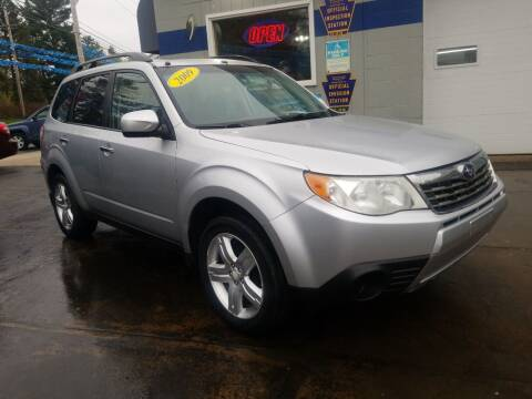 2009 Subaru Forester for sale at Fleetwing Auto Sales in Erie PA