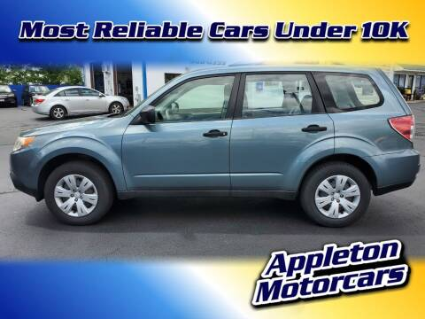 2010 Subaru Forester for sale at Appleton Motorcars Sales & Service in Appleton WI
