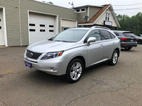 2011 Lexus RX 450h for sale at Prime Auto LLC in Bethany CT