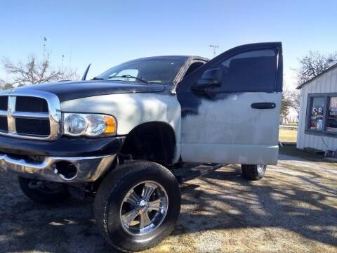 2004 Dodge Ram Pickup 1500 for sale at C & R Auto Sales in Bowlegs OK