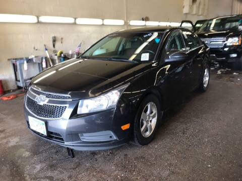 2012 Chevrolet Cruze for sale at LUXURY IMPORTS AUTO SALES INC in North Branch MN