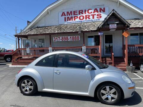 2006 Volkswagen New Beetle for sale at American Imports INC in Indianapolis IN