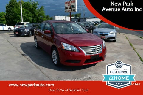 2015 Nissan Sentra for sale at New Park Avenue Auto Inc in Hartford CT