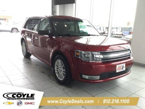 2018 Ford Flex for sale at COYLE GM - COYLE NISSAN in Clarksville IN