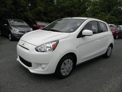 2014 Mitsubishi Mirage for sale at Dream Auto Group in Dumfries VA