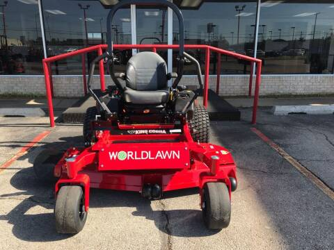 """2021 Worldlawn King Cobra 60"""" Deck ZTR  for sale at NORRIS AUTO SALES in Oklahoma City OK"""