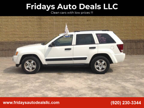 2005 Jeep Grand Cherokee for sale at Fridays Auto Deals LLC in Oshkosh WI