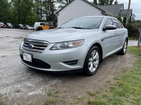 2012 Ford Taurus for sale at Williston Economy Motors in Williston VT