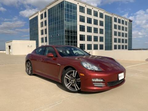 2012 Porsche Panamera for sale at SIGNATURE Sales & Consignment in Austin TX
