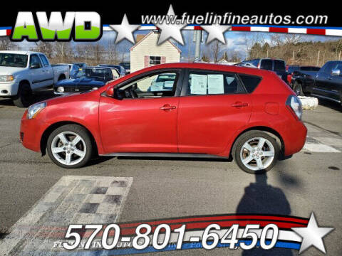 2009 Pontiac Vibe for sale at FUELIN FINE AUTO SALES INC in Saylorsburg PA