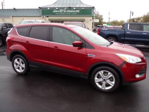 2015 Ford Escape for sale at Jim O'Connor Select Auto in Oconomowoc WI