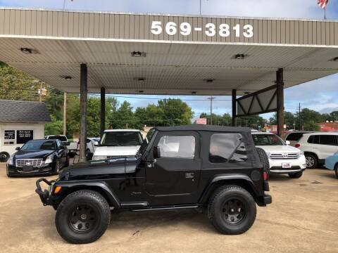 1997 Jeep Wrangler for sale at BOB SMITH AUTO SALES in Mineola TX