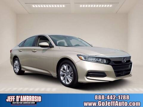 2019 Honda Accord for sale at Jeff D'Ambrosio Auto Group in Downingtown PA