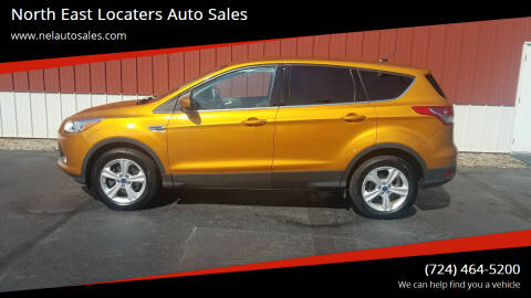 2016 Ford Escape for sale at North East Locaters Auto Sales in Indiana PA