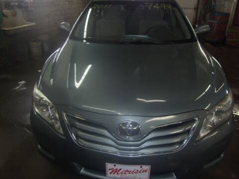 2011 Toyota Camry for sale at MITRISIN MOTORS INC in Oskaloosa IA