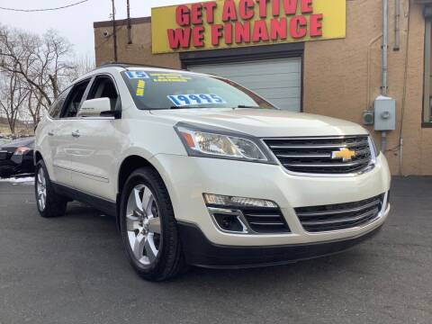 2015 Chevrolet Traverse for sale at Active Auto Sales Inc in Philadelphia PA