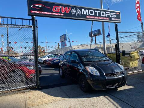 2011 Toyota Yaris for sale at GW MOTORS in Newark NJ