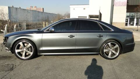 2013 Audi S8 for sale at AFFORDABLE MOTORS OF BROOKLYN in Brooklyn NY