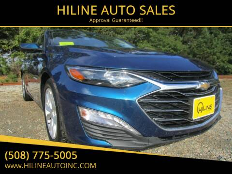 2019 Chevrolet Malibu for sale at HILINE AUTO SALES in Hyannis MA