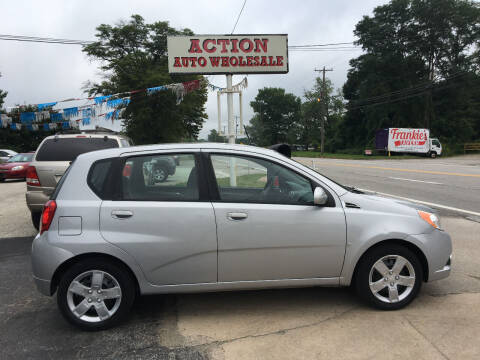 2009 Chevrolet Aveo for sale at Action Auto Wholesale in Painesville OH