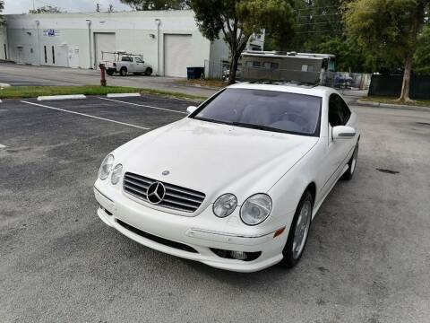2002 Mercedes-Benz CL-Class for sale at Best Price Car Dealer in Hallandale Beach FL