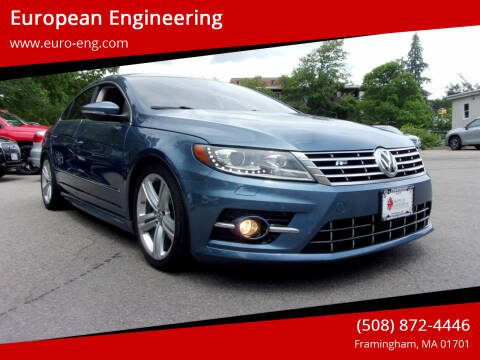 2016 Volkswagen CC for sale at European Engineering in Framingham MA