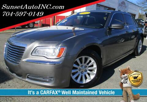 2012 Chrysler 300 for sale at Sunset Auto in Charlotte NC