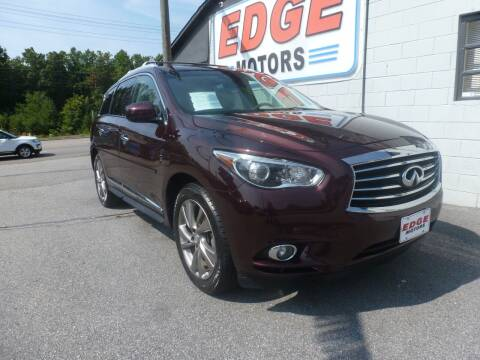 2013 Infiniti JX35 for sale at Edge Motors in Mooresville NC