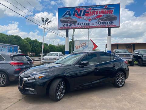 2018 Mazda MAZDA3 for sale at ANF AUTO FINANCE in Houston TX