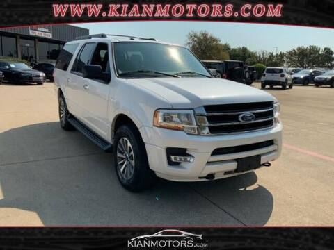 2017 Ford Expedition EL for sale at KIAN MOTORS INC in Plano TX