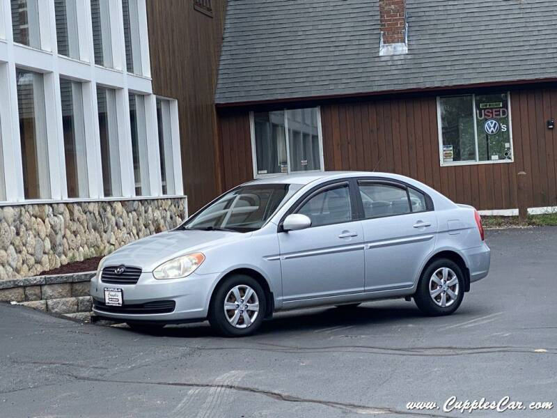 2008 Hyundai Accent for sale at Cupples Car Company in Belmont NH