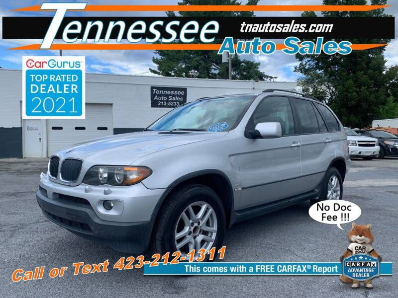 2005 BMW X5 for sale at Tennessee Auto Sales in Elizabethton TN
