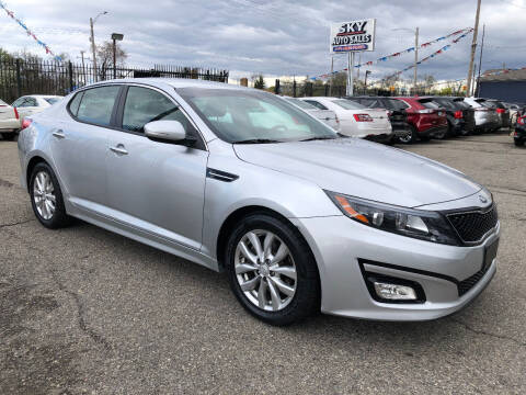 2015 Kia Optima for sale at SKY AUTO SALES in Detroit MI