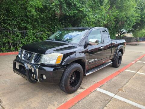 2005 Nissan Titan for sale at DFW Autohaus in Dallas TX