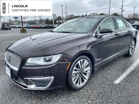 2020 Lincoln MKZ Hybrid for sale at Kindle Auto Plaza in Cape May Court House NJ