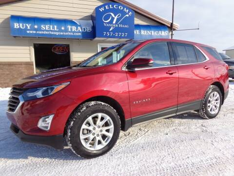 2018 Chevrolet Equinox for sale at VanderHaag Car Sales LLC in Scottville MI