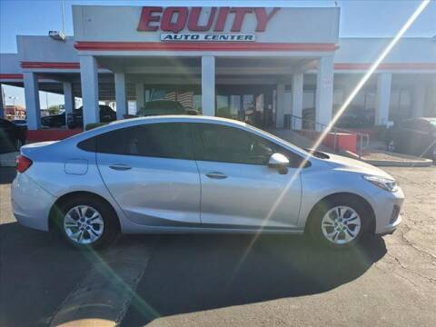 2019 Chevrolet Cruze for sale at EQUITY AUTO CENTER in Phoenix AZ
