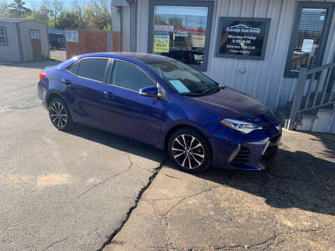 2017 Toyota Corolla for sale at Rutledge Auto Group in Palestine TX
