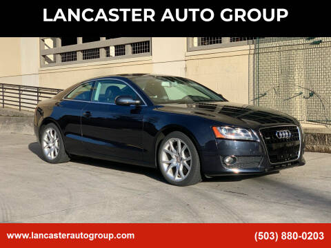 2012 Audi A5 for sale at LANCASTER AUTO GROUP in Portland OR