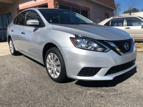 2019 Nissan Sentra for sale at Central 1 Auto Brokers in Virginia Beach VA