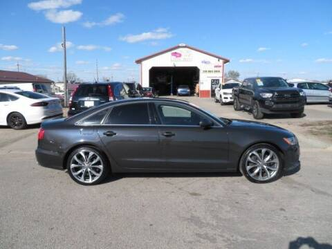 2013 Audi A6 for sale at Jefferson St Motors in Waterloo IA