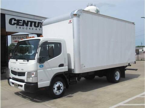 2013 Mitsubishi Fuso FEC72S for sale at CENTURY TRUCKS & VANS in Grand Prairie TX