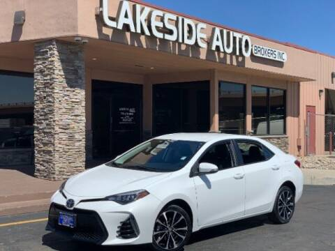 2017 Toyota Corolla for sale at Lakeside Auto Brokers Inc. in Colorado Springs CO