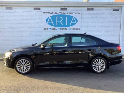 2013 Volkswagen Jetta for sale at ARIA  AUTO  SALES in Raleigh NC