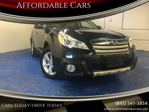 2013 Subaru Outback for sale at Affordable Cars in Kingston NY