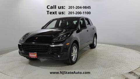 2017 Porsche Cayenne for sale at NJ State Auto Used Cars in Jersey City NJ
